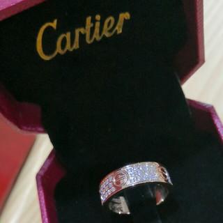 カルティエ(Cartier)の人気色 Cartier リング(指輪) ピンクゴールド 刻印  (リング(指輪))
