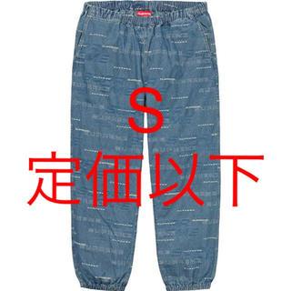 シュプリーム(Supreme)のS Dimensions Logo Denim Skate Pant(デニム/ジーンズ)