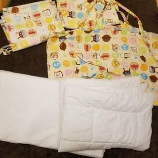 アンパンマン - Anpanman あんぱんまん 保育園や昼寝などに お昼寝布団 収納バッグ付