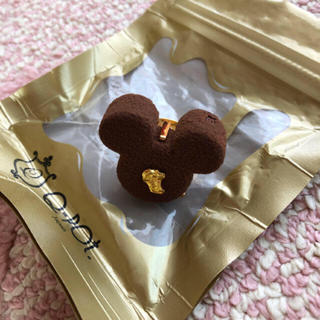 Q-pot. - Q-pot チョコレートミッキー リング