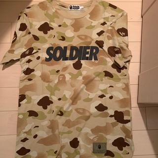 A BATHING APE - A Bathing Ape ベイプ SOLDIER Tシャツ