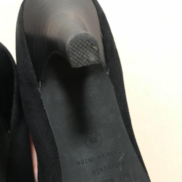 ORiental TRaffic(オリエンタルトラフィック)のパンプス  黒 ビジュー オリエンタルトラフィック レディースの靴/シューズ(ハイヒール/パンプス)の商品写真