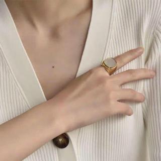 アパルトモンドゥーズィエムクラス(L'Appartement DEUXIEME CLASSE)のセリーヌ シグネットリング (リング(指輪))