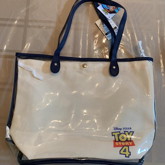 トイ・ストーリー(トイストーリー)のトイ・ストーリ ビニール巾着トートバック レディースのバッグ(トートバッグ)の商品写真