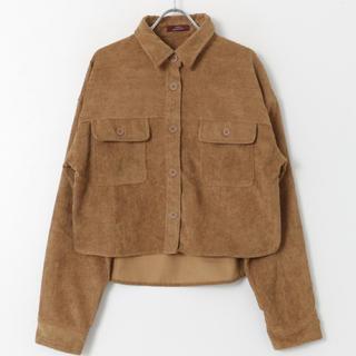 アーバンリサーチ(URBAN RESEARCH)のコーデュロイビックシャツ(シャツ/ブラウス(長袖/七分))