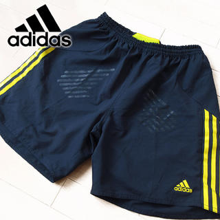 adidas - 超美品 Oサイズ アディダス メンズ ショートパンツ ネイビー