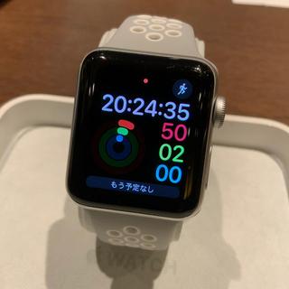 アップルウォッチ(Apple Watch)の(純正品) Apple Watch series3 38mm (腕時計(デジタル))