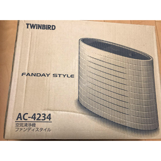 ツインバード(TWINBIRD)のTWINBIRD 空気清浄機AC-4234(空気清浄器)