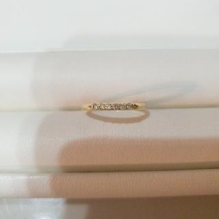 美品 艶々 底値出品❣️K18 ダイヤモンドリング (12号)