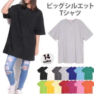 ② Tシャツ XXXL ビッグTシャツ ビッグシルエット ニューエラ 無地 GU(Tシャツ/カットソー(半袖/袖なし))