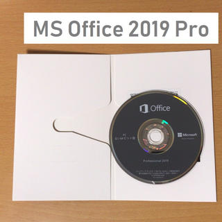 Microsoft - 【MS-Office 2019 Professional】新品プロダクトキー付