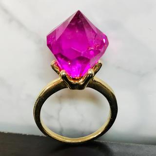 スタージュエリー(STAR JEWELRY)の【 新品 】 ピンク ダイヤモンド リング ゴールド 特大(リング(指輪))
