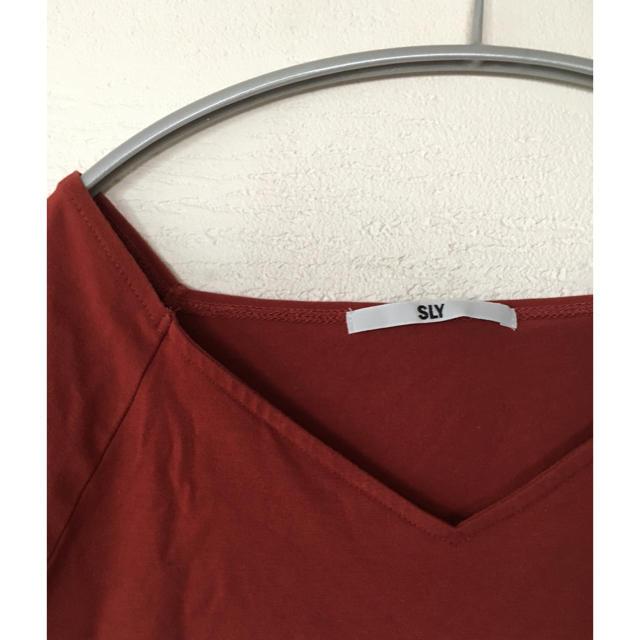 SLY(スライ)の終了間近 SLY Tシャツ/カットソー レディースのトップス(Tシャツ(半袖/袖なし))の商品写真