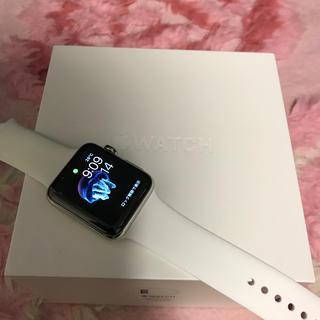 アップルウォッチ(Apple Watch)のAppleWatch Series 2 ステンレス 42mm(スマートフォン本体)