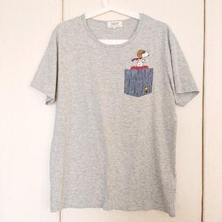 スヌーピー(SNOOPY)のスヌーピー 半袖 Tシャツ Lサイズ(Tシャツ/カットソー(半袖/袖なし))