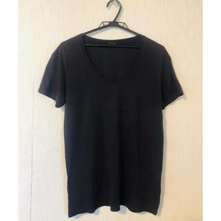 セオリー(theory)のネイビーT-shirt(Tシャツ(半袖/袖なし))