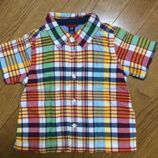 ベビーギャップ(babyGAP)のチェックシャツ☆Gap(ブラウス)