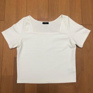 リップサービス(LIP SERVICE)のLIP SERVICE トップス(Tシャツ(半袖/袖なし))