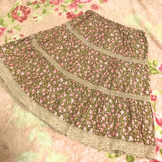 LIZ LISA - 【着画あり】リズリサ♡ナチュラル系花柄スカート