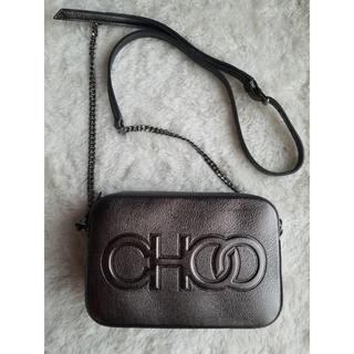 JIMMY CHOO - JIMMY CHOO ジミーチュウ 『CHOO』ロゴ クロスボディ バッグ