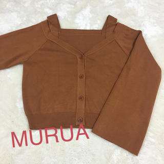 MURUA - MURUA ムルーア トップス 秋 可愛い❤️