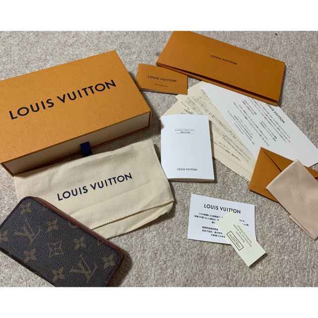 LOUIS VUITTON - ルイヴィトン iPhone XS モノグラム ケース ピンクの通販