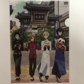 カドカワショテン(角川書店)の文豪ストレイドッグス 横浜クリアファイル(クリアファイル)