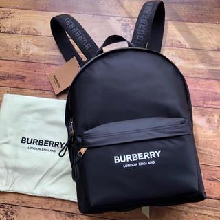 BURBERRY - 新品 バーバリー BURBERRY ジェット ロゴ  バックパック リュック