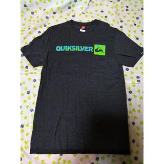 クイックシルバー(QUIKSILVER)のクイックシルバー Tシャツ M チャコール ボルコム ロキシー ハーレー(Tシャツ/カットソー(半袖/袖なし))
