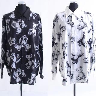 【ユニセックス】グロテスクテディビックシャツ