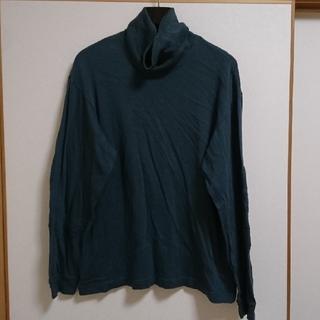 バル(BAL)のBAL バル カットソー ハイネック エルボーパッチ(Tシャツ/カットソー(七分/長袖))