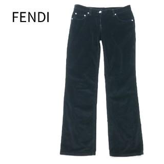 フェンディ(FENDI)のFENDI フェンディ 42サイズ コールテン素材 イタリア製 パンツ(カジュアルパンツ)