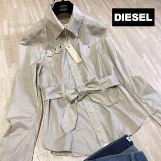 DIESEL - 未使用 *DIESEL ディーゼル ベルト付きシャツ