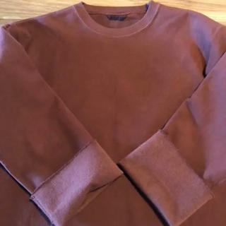 コモリ(COMOLI)の[auralee]super milled sweat cut off 18aw(トレーナー/スウェット)