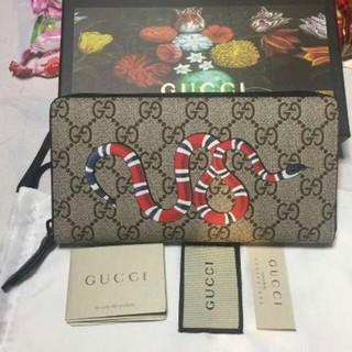 Gucci - GUCCI スネーク 長財布