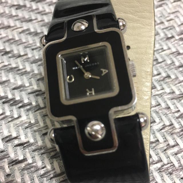 ユーボート 時計 コピーブランド - MARC BY MARC JACOBS - マークジェイコブス 時計 黒 エナメルの通販