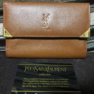 サンローラン(Saint Laurent)のイブサンローラン 折りたたみ財布 未使用品(財布)