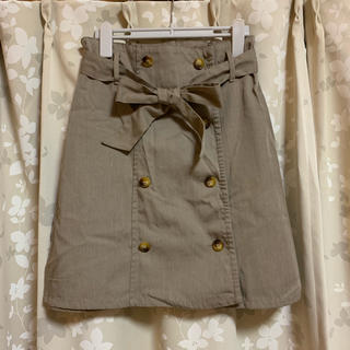 ケービーエフ(KBF)のKBF トレンチスカート(ひざ丈スカート)