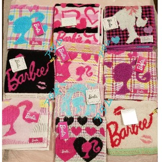 Barbie - Barbie タオルハンカチ 10枚 新品タグつき