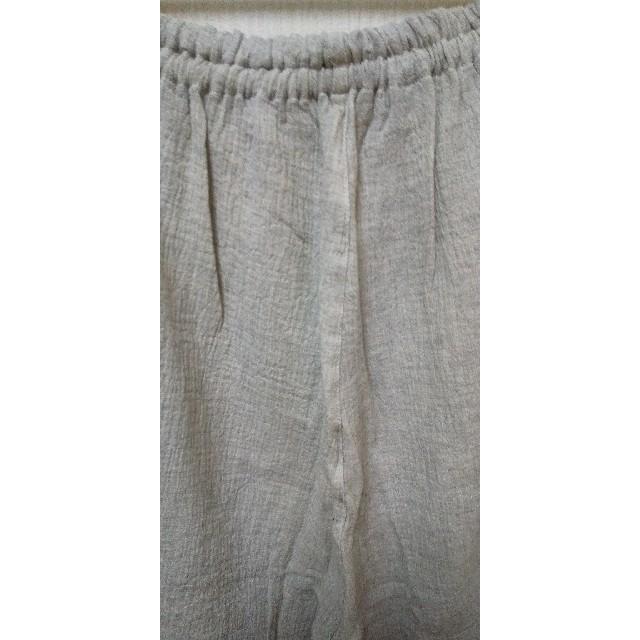 大きいサイズ 5L ダブルガ―ゼ パジャマパンツのみ レディースのルームウェア/パジャマ(パジャマ)の商品写真