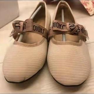 ディオール(Dior)のdior フラットシューズ(ハイヒール/パンプス)