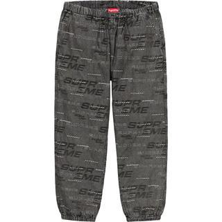 シュプリーム(Supreme)のDimensions Logo Denim Skate Pant 黒 S(デニム/ジーンズ)