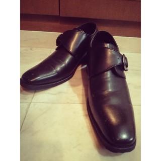 ローファー ビジネスシューズ 革靴 シークレットソール インヒール 7cm(ドレス/ビジネス)