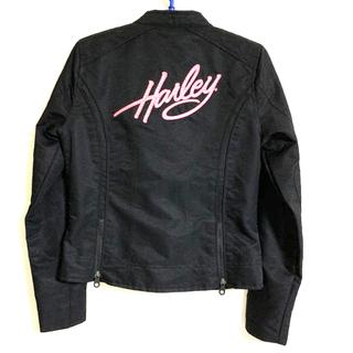 Harley Davidson - 【ハーレーダビッドソン】レディース XS ナイロンジャケット ピンクレーベル
