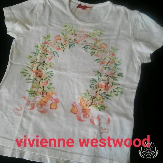 Vivienne Westwood(ヴィヴィアンウエストウッド)のvivienne westwood Tシャツ ヴィヴィアンウエストウッド レディースのトップス(Tシャツ(半袖/袖なし))の商品写真