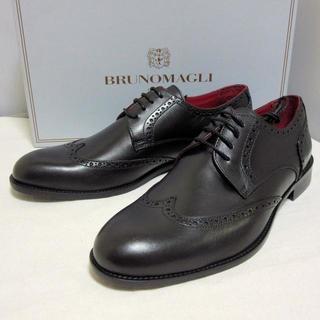ブルーノマリ(BRUNOMAGLI)の新品 ブルーノマリ イタリア製 革靴 ドレスシューズ 27.5cm-28cm(ドレス/ビジネス)