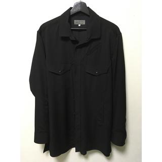 ヨウジヤマモト(Yohji Yamamoto)のyohji  yamamoto 17ss ウールシャツ(シャツ)