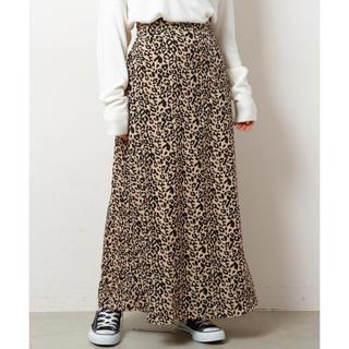レイカズン(RayCassin)のレオパード柄スカート(ロングスカート)
