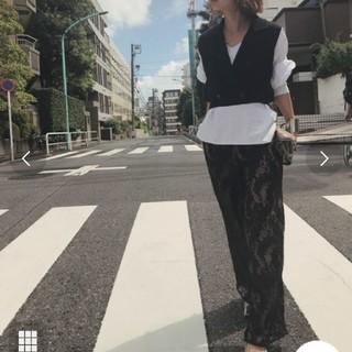 アメリヴィンテージ(Ameri VINTAGE)のAMERI LAYLA LACE PANTS 最終値下げ!!(カジュアルパンツ)