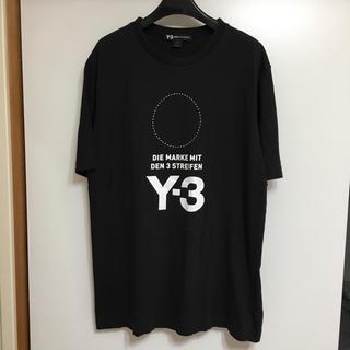 ワイスリー(Y-3)のタグ付 Y-3 ワイスリー  ヨウジヤマモト 半袖カットソー(Tシャツ/カットソー(半袖/袖なし))
